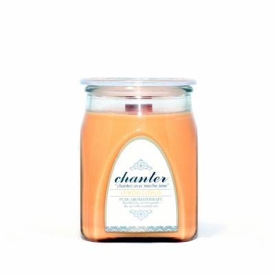 [샹떼] 레몬 시트러스 Lemon Citrus - 자캔들 미디움 220g : 소이캔들 & 우드심지