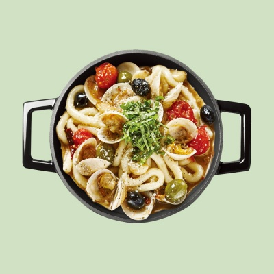 라비퀸 떡볶이 봉골레맛 세트