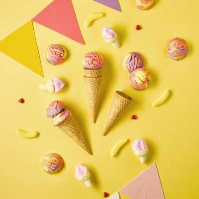 피나포레 x DIA FOOD 레인보우 스쿱 쿠키