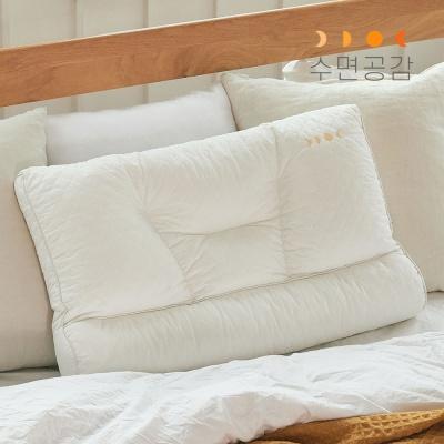 [수면공감] 우유베개 라텍스 기능성 경추 베개