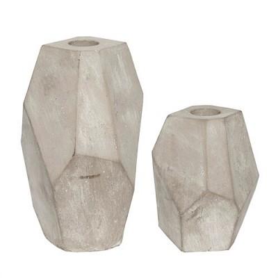 [Hubsch] Candlestick concrete 캔들스틱449003
