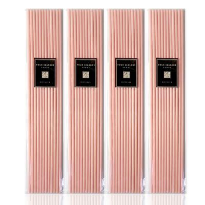 포시즌 디퓨저 섬유스틱 4mm 핑크 48개