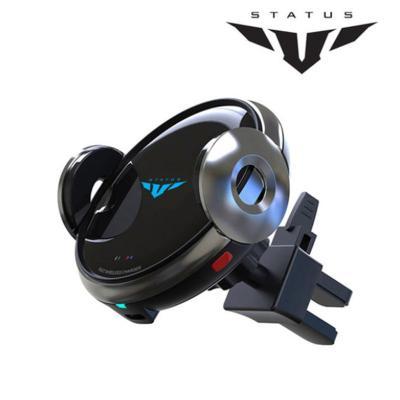 스타투스 스마트 고속 무선충전 자동거치대-벤트형