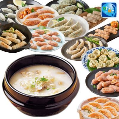 [아하식품] 진국 설렁탕 + 만두국세트 (총 2팩) 택2
