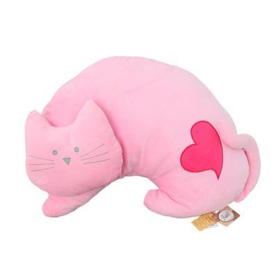 베스트에버 고양이 쿠션-핑크