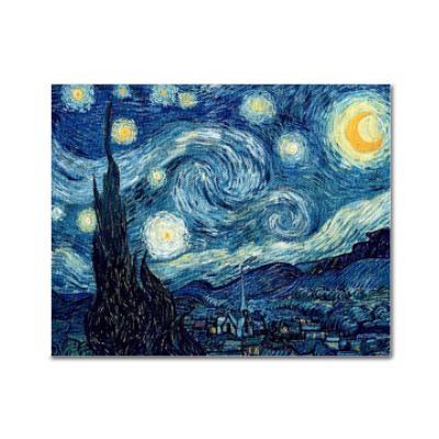 DIY 보석십자수 - 고흐의 별이빛나는밤 BH15 (50x40)