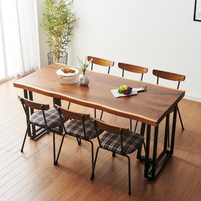 코디 2000x800 우드슬랩 식탁 8인용 테이블