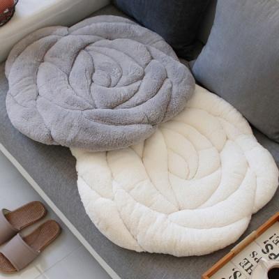 [2HOT] 극세사 장미 방석