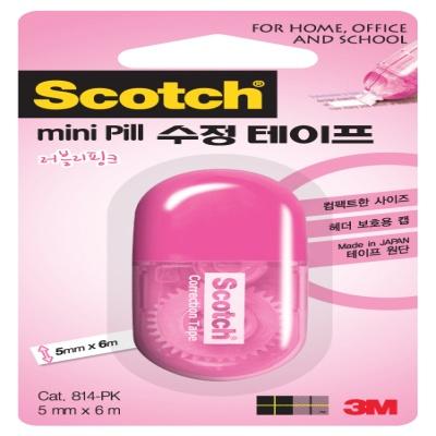 3M 스카치™ 수정테이프 미니필(5mmx6m)