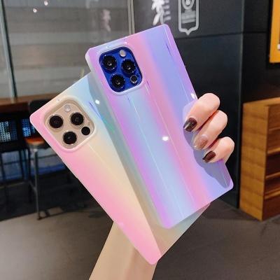 아이폰 12미니 pro max 홀로그램 렌즈보호 젤리케이스