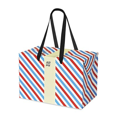 PLUSBOX GIFT BAG (Letter Stripes) (쇼핑백/포장박스)