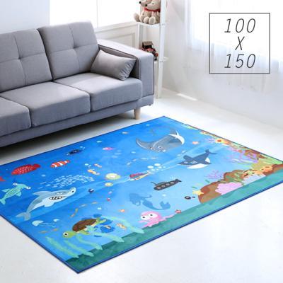 주노데코 바닷속 카페트 100x150cm