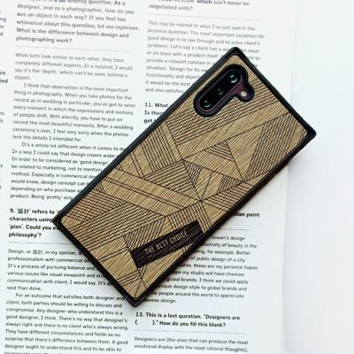LIGHT BROWN Line CLASSIC WOOD CASE+바디세트