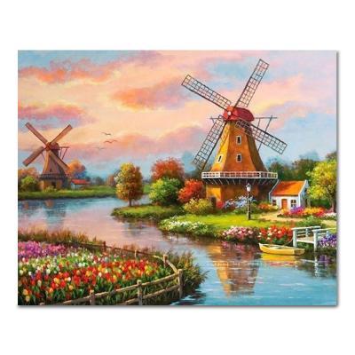 DIY 페인팅 네덜란드의 풍경 PH99 (50x40)