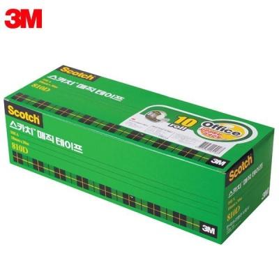 3M 스카치 매직테이프 오피스팩 810D-10 [00031732]