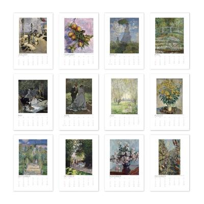 [2021 명화 캘린더] Claude Monet 클로드 모네 Type B