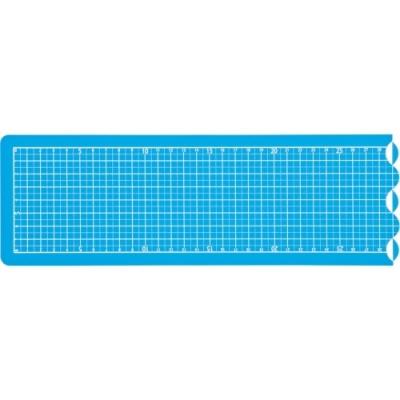 [나카바야시] 접이식커팅매트A2 1/4 블루 [개/1] 383282