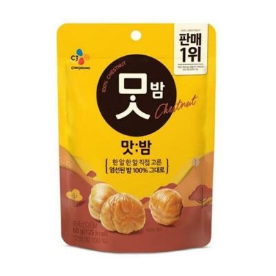 [CJ제일제당] 한알한알 직접고른 달콤한 맛밤 80gx5봉