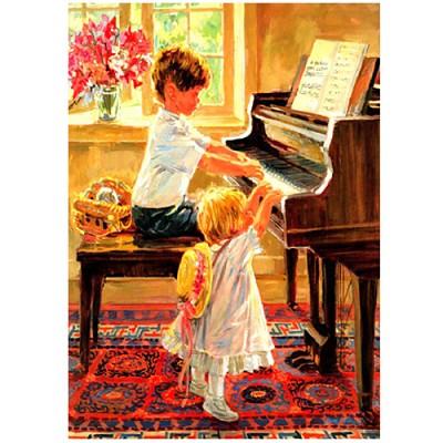 피아노치는소년 150조각
