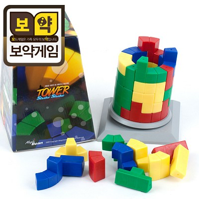 [보약게임] 쉐이크 타워 - 3D 입체퍼즐 보드게임