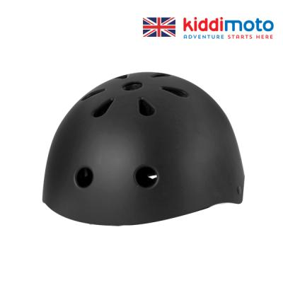 키디모토 헬맷 매트 블랙 안전헬멧/아동용헬멧/킥보드헬멧