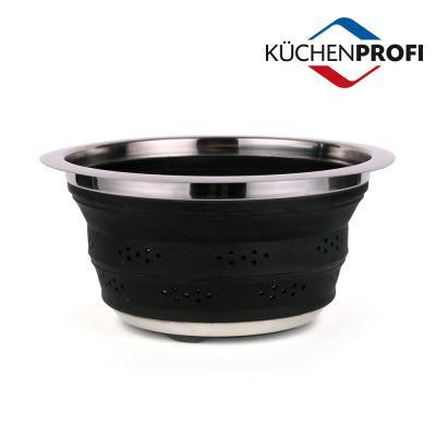 쿠첸프로피 콜랜더 블랙 25cm