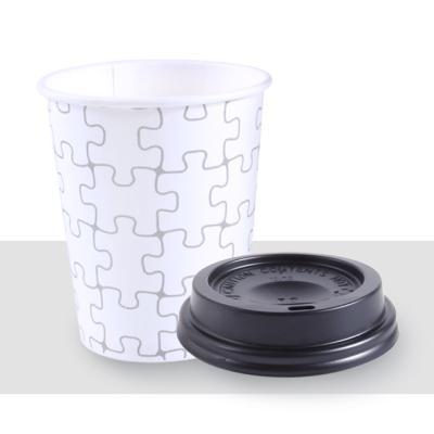 종이컵_10온스 퍼즐 + 일반형블랙10세트