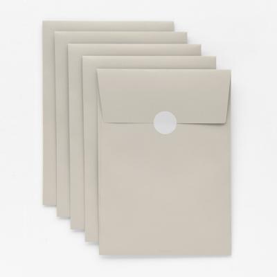 기프트 봉투 베이지브라운 M - 5매