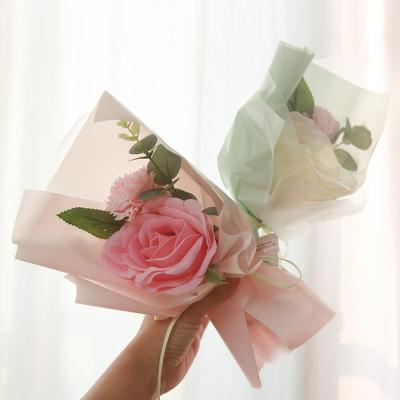 조화 큐티 로즈 기념일 축하 꽃다발 2종 택1