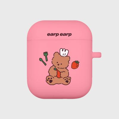 strawberry time-pink(Air pods)