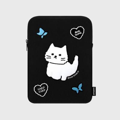 [01.22 예약발송]Awesome cat-black(아이패드 파우치)