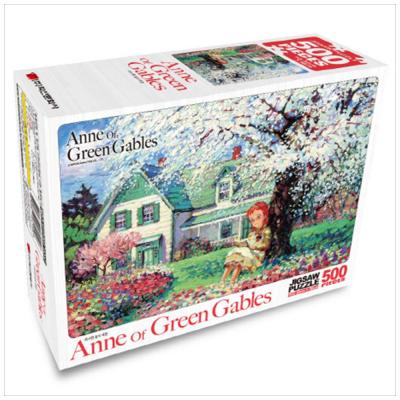 빨강머리앤 직소퍼즐 500pcs 화사한 꽃의 계절