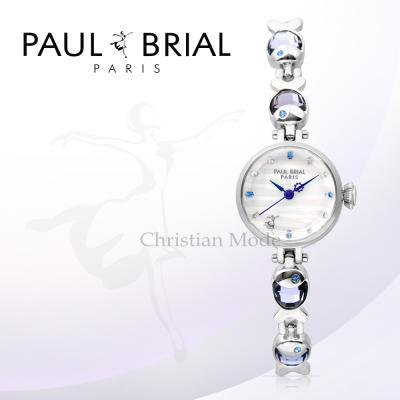 폴브리알(PAUL BRIAL) 여성시계 PB8012WSVI/팔찌