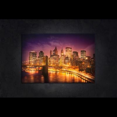 LED 캔버스 조명액자 - 뉴욕의 야경
