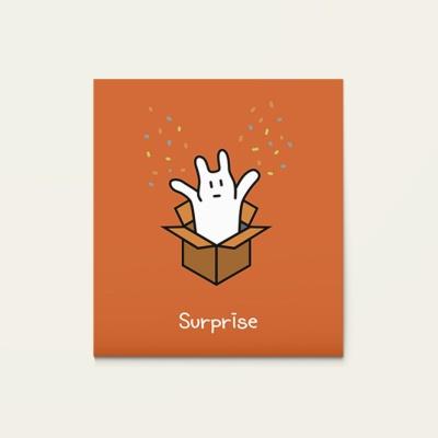 메세지카드 - SURPRISE