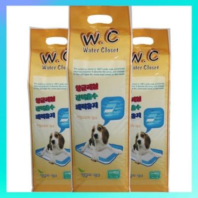 WC워터클로짓 강아지 패드 30매 W3F476C