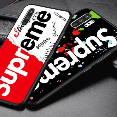 갤럭시노트10 노트10플러스 슈프림 디자인 젤리케이스