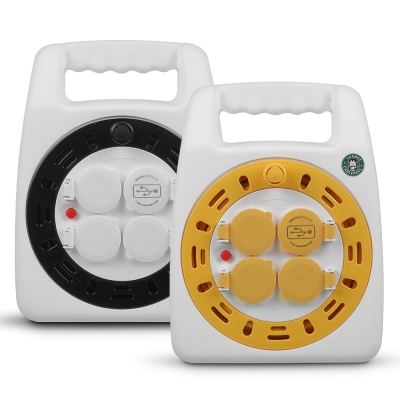 캠핑용 릴케이블 멀티탭 USB충전기 20미터 BL-G15MUP