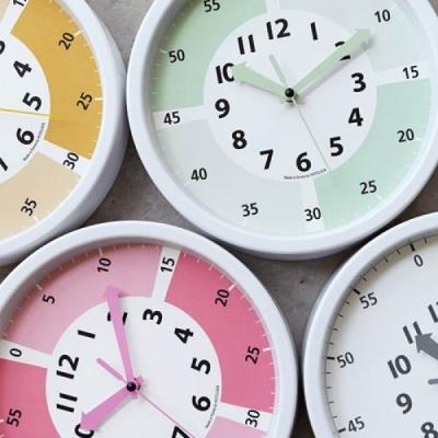 [n1y] 250파이 어린이 시계공부 저소음 벽시계.