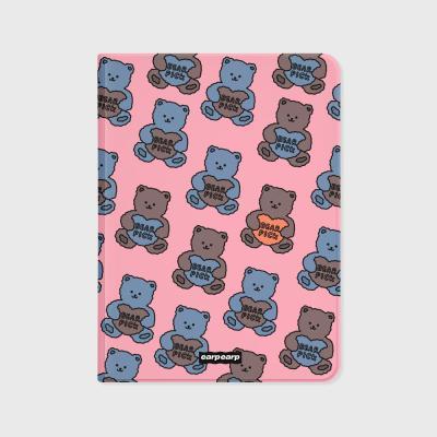 Bear pick-pink(아이패드-커버)
