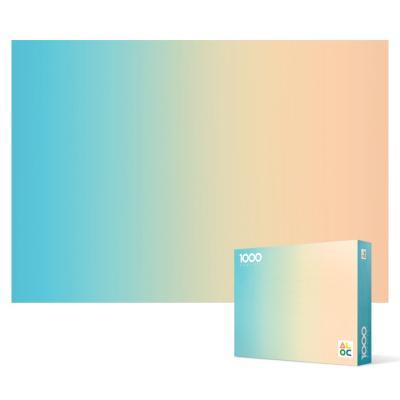 1000피스 직소퍼즐 - 그라디언트 블루