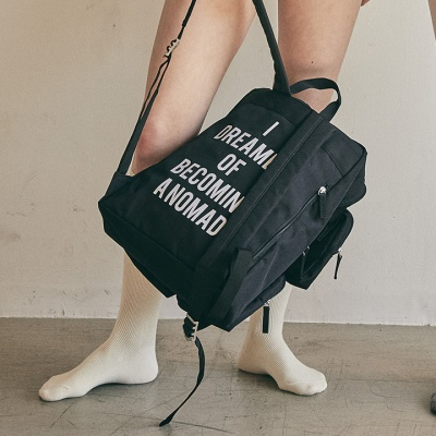 4pockets backpack_black