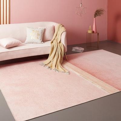 여름용 단모 핑크 뮬리 가든 러그 (1400x2000)