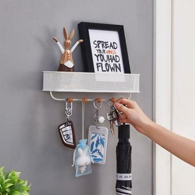 타공메탈 후크 벽걸이 멀티박스 다용도선반후크 열쇠