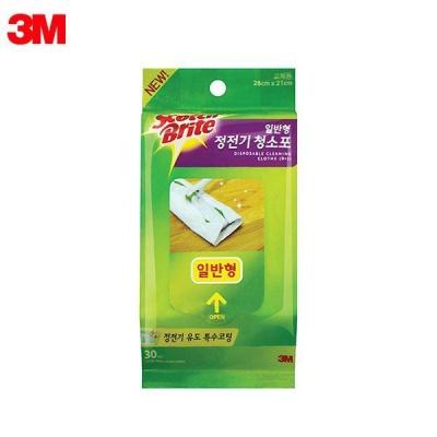 3M 스카치브라이트 정전기 청소포리필 30매 [031854]