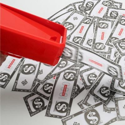 [핵인싸템 돈쏘는총 머니건 2color] 지폐 돈다발나오는 권총 돈총 뿌리는기계