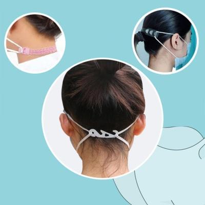 마스크 3단 조절 귀아픔 통증 감소 방지 밀착 고리