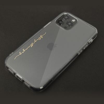 아이폰 12 시리즈 클리어 하드 케이스+메탈스티커