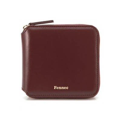 Fennec Zipper Wallet 페넥 지퍼 월렛 -007 Wine