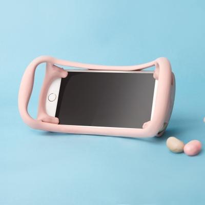 에그핀그립(핑크) 유아용 실리콘 핸드폰거치대59990551